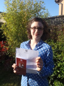 Sarah McKenna Listowel Literary Competition for Youth under fourteens. Third Place 2016